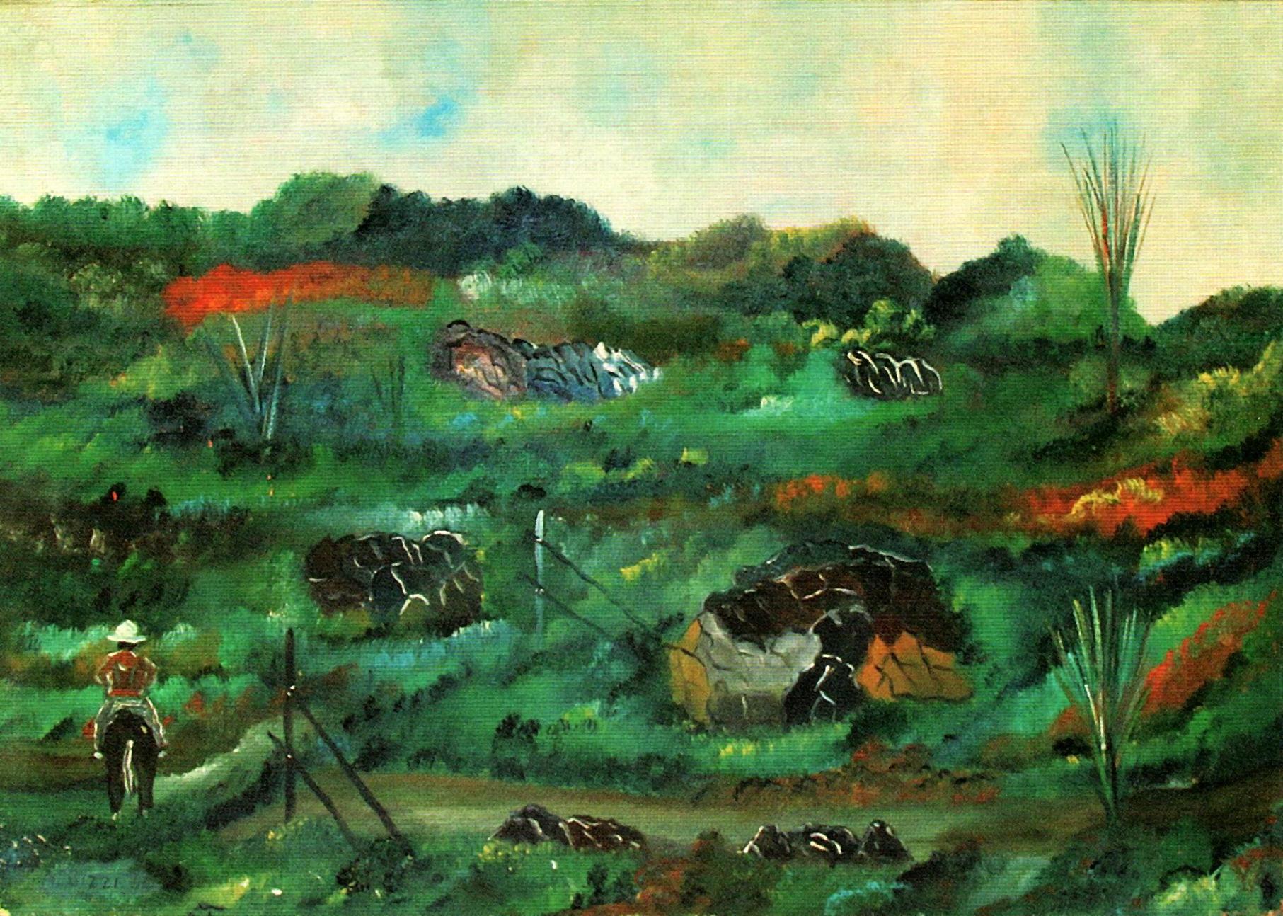 Paesaggio, 1964