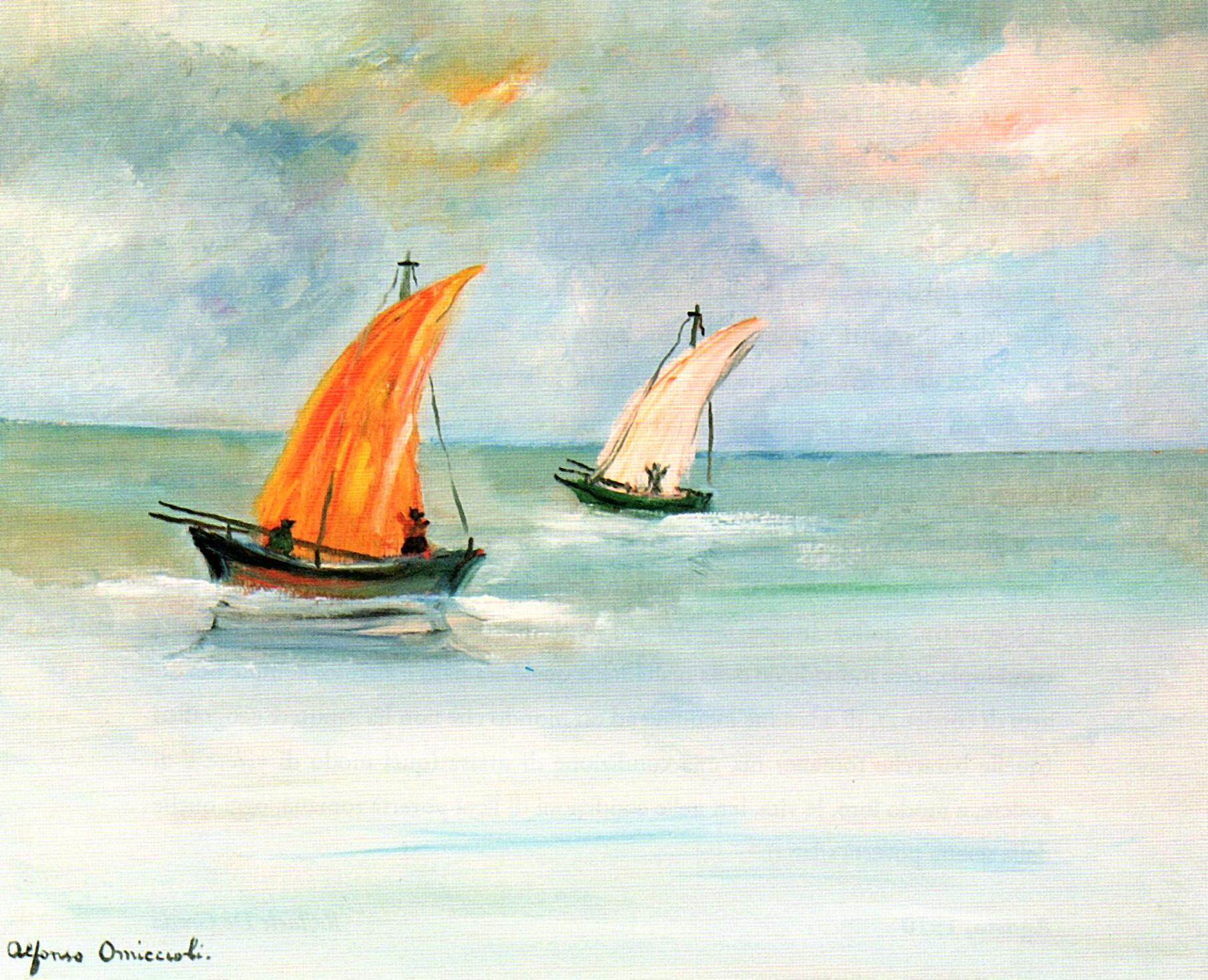 Ritratto dei pescatori, 1974