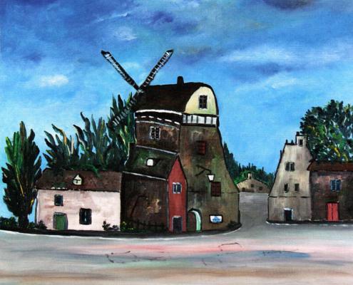 Vecchio mulino a Delft, 1982